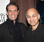 Anthony Crivello & Ned Eisenberg attending the Meet & Greet for the Lincoln Center Theater's 75th Anniversary Production of 'Golden Boy' at their Rehearsal Studios on 10/25/2012 in New York.