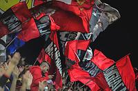 RIO DE JANEIRO, RJ, 13.07.2017 – FLAMENGO-GRÊMIO – Movimentação da torcida do Flamengo, durante confronto pela décima terceira rodada do primeiro turno, válido pelo campeonato brasileiro 2017, no estádio Luso Brasileiro, zona norte da cidade do Rio de Janeiro, na noite desta quinta-feira (13). (Foto: Jayson Braga / Brazil Photo Press)