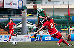 USRC vs Kowloon Cricket Club Veterans during the Day 2 of the HKFC Citibank Soccer Sevens 2014 on May 24, 2014 at the Hong Kong Football Club in Hong Kong, China. Photo by Xaume Olleros / Power Sport Images