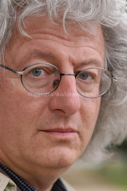 Peter Esterhazy,  Hungarian writer in 2004.