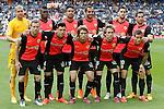 Almeria's team photo during La Liga match. April 29,2015. (ALTERPHOTOS/Acero)