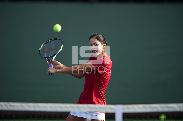 Hilary Barte of the 2010 Stanford women's Tennis Team.