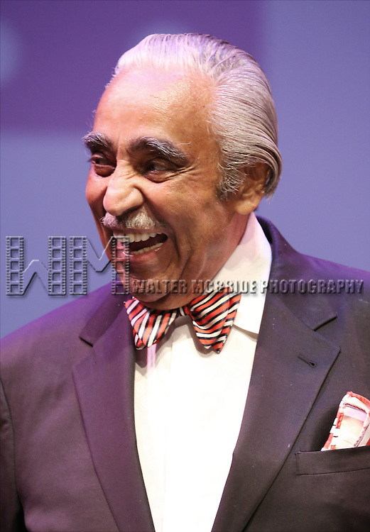 Charles Rangel performs at Woodie King Jr.'s New Federal Theatre 44th Anniversary Gala honoring Voza Rivers at BMCC Tribeca Performing Arts Center on March 16, 2014 in New York City.