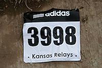2015 Kansas Relays bib