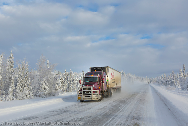 James Dalton Highway, Alaska.