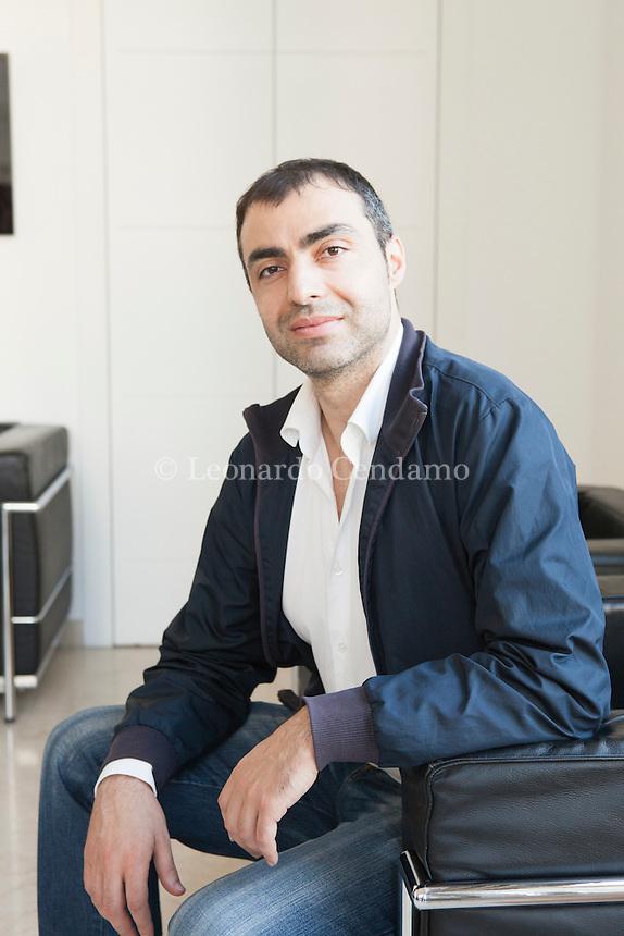 Menotti Lerro (born February 22, 1980) is an Italian author. Writer of poetry, aphorisms, criticism, novels and short stories. Milano, 15 aprile 2015. © Leonardo Cendamo