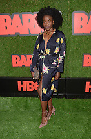 """LOS ANGELES - FEB 21:  Kirby Howell-Baptiste at the """"Barry"""" HBO Premiere Screening at the NeueHouse Hollywood on February 21, 2018 in Los Angeles, CA"""