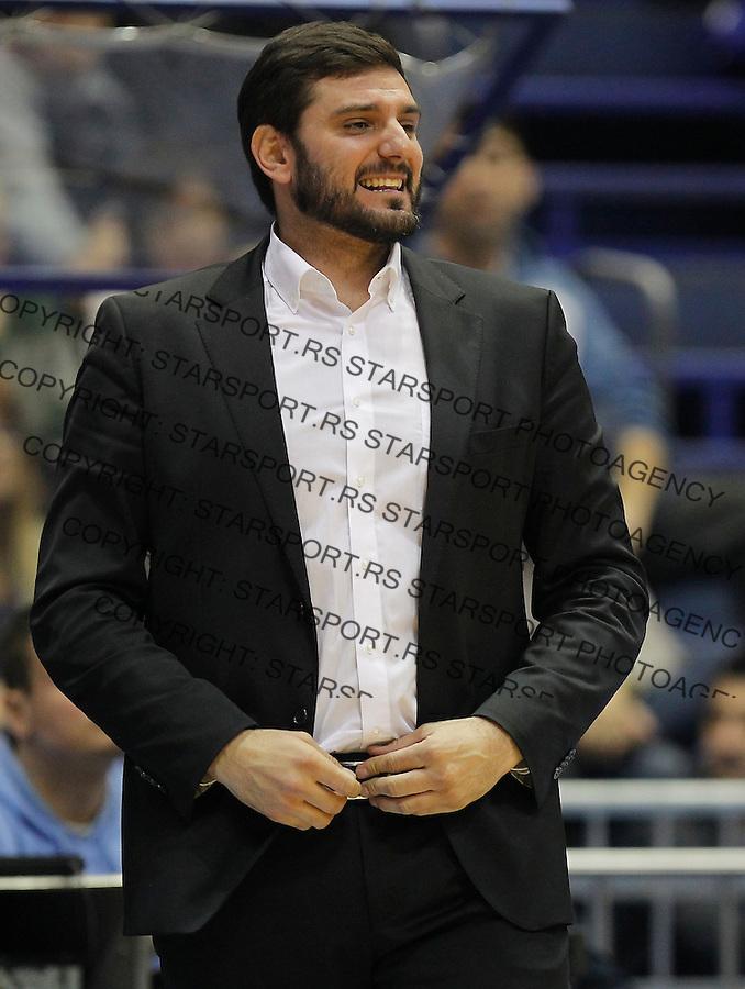 Kosarka ABA League season 2015-2016<br /> Crvena Zvezda v Partizan<br /> Head coach Petar Bozic<br /> Beograd, 03.11.2015.<br /> foto: Srdjan Stevanovic/Starsportphoto&copy;