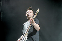 Montreal (Qc) Canada -2011 File Photo - Blink 182 in concert