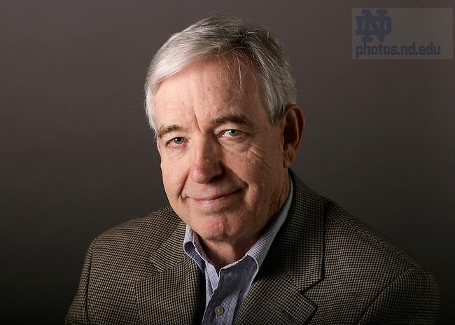 Program of Liberal Studies professor Phillip R. Sloan..Photo by Matt Cashore..