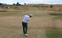 Brandon Stone (RSA) plays approach shot to the 16th during the Final Round of the ASI Scottish Open 2018, at Gullane, East Lothian, Scotland.  15/07/2018. Picture: David Lloyd | Golffile.<br /> <br /> Images must display mandatory copyright credit - (Copyright: David Lloyd | Golffile).