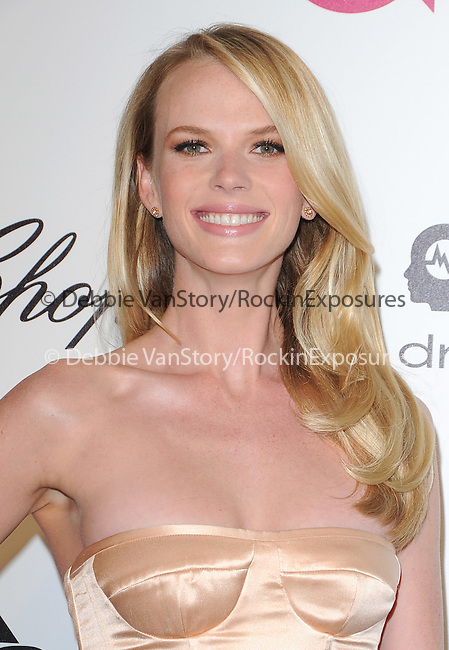 Anne Vyalitsyna attends the 2014 Elton John AIDS Foundation Academy Awards Viewing Party in West Hollyood, California on March 02,2014                                                                               © 2014 Hollywood Press Agency