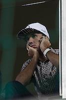 BELO HORIZONTE, MG, 09.04.2015 – COPA LIBERTADORES DA AMÉRICA 2015 – ATLETICO-MG  X sANTA FÉ  jogador do Atlético-MaG  durante jogo contra Santa Fé valido pela rodada <br /> do Copa Libertadores da América, no estádio Arena Independencia, na noite desta quinta (09) (Foto: MARCOS FIALHO / BRAZIL PHOTO PRESS)