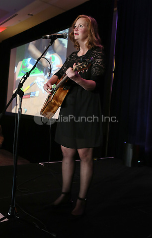HOLLYWOOD, CA - SEPTEMBER 30: Performance, at The 6th Annual Saving Innocence Gala_Insde at Loews Hollywood Hotel, California on September 30, 2017. Credit: Faye Sadou/MediaPunch