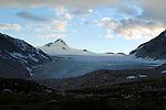 Mountain Scenic With Glacier