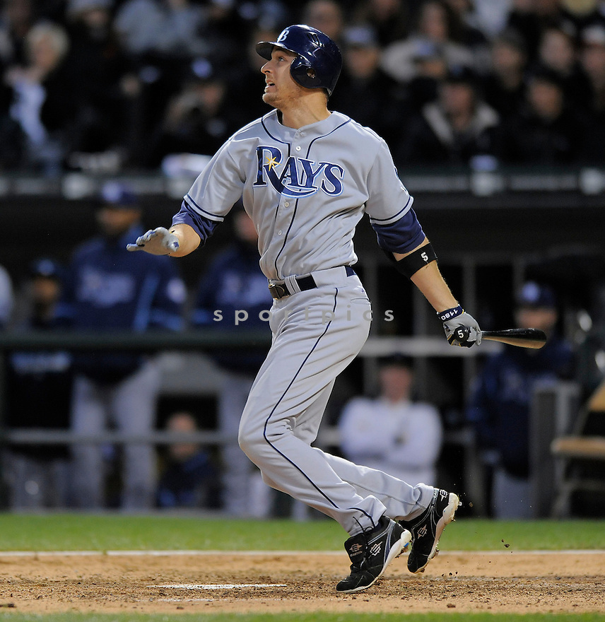 ROCCO BALDELLI, of the Tampa Bay Rays, in action during the  Rays  game against the Chicago White Sox, in Chicago, IL  on October 5, 2008..The Chicago White Sox  won 5-3