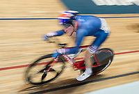 Picture by Allan McKenzie/SWpix.com - 06/01/2018 - Track Cycling - Revolution Champion Series 2017 - Round 3 - National Cycling Centre, Manchester, England - Team Inspired's Ethan Hayter races in the Elite Championships Points race.