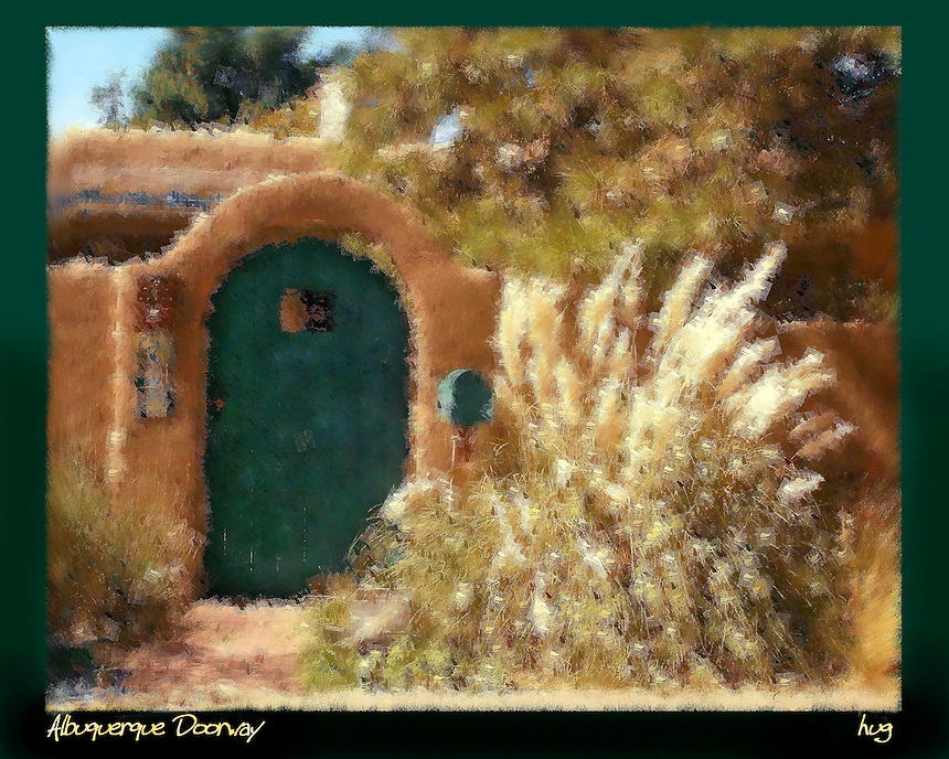 Albuquerque Doorway
