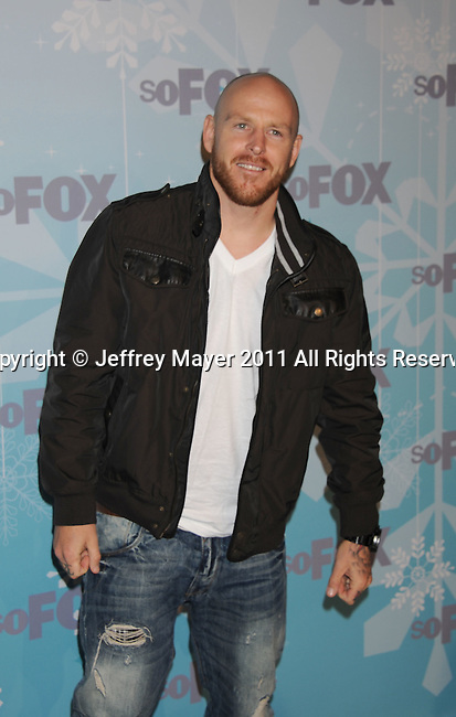 PASADENA, CA - January 11: Jason Ellis attends the 2011 Fox All-Star Party at Villa Sorriso on January 11, 2011 in Pasadena, California.