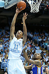 22 December 2012: North Carolina's Brice Johnson (11). The University of North Carolina Tar Heels played the McNeese State University Cowboys at the Dean E. Smith Center in Chapel Hill, North Carolina in an NCAA Division I Men's college basketball game. UNC won the game 97-63.