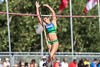 TORONTO, CANADÁ, 23.07.2015 - PAN-ATLETISMO - Karla Silva durante salto com vara no atletismo nos Jogos Panamericanos na cidade de Toronto no Canadá, nesta quinta-feira, 23 (Foto: Vanessa Carvalho/Brazil Photo Press)