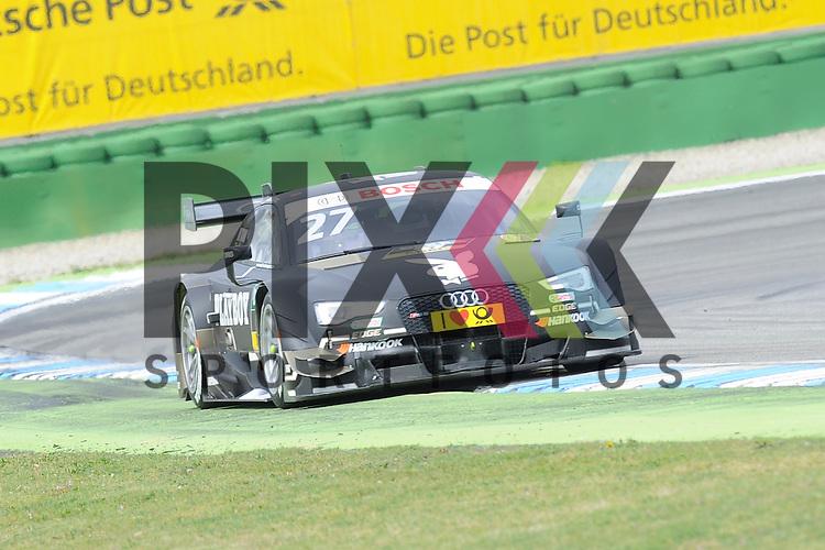 # 27 Adrien Tambay auf Audi RS5 DTM vom Audi Sport Team Abt Sportsline  beim Rennen der DTM auf dem Hockenheimring.<br /> <br /> Foto &copy; P-I-X.org *** Foto ist honorarpflichtig! *** Auf Anfrage in hoeherer Qualitaet/Aufloesung. Belegexemplar erbeten. Veroeffentlichung ausschliesslich fuer journalistisch-publizistische Zwecke. For editorial use only.