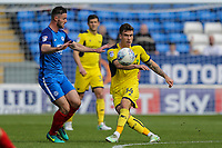 Josh Ruffels of Oxford United during the Sky Bet League 1 match between Peterborough and Oxford United at the ABAX Stadium, London Road, Peterborough, England on 30 September 2017. Photo by David Horn.