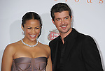 HOLLYWOOD, CA. - November 01: Paula Patton and Robin Thicke arrive at AFI FEST 2009 Screening Of Precious: Based On The Novel 'PUSH' By Sapphire at Grauman's Chinese Theatre on November 1, 2009 in Hollywood, California.