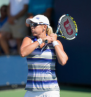ANASTASIA RODIONOVA (AUS)<br /> The US Open Tennis Championships 2014 - USTA Billie Jean King National Tennis Centre -  Flushing - New York - USA -   ATP - ITF -WTA  2014  - Grand Slam - USA  25th August 2014. <br /> <br /> &copy; AMN IMAGES