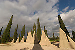 "Israel, the Shephelah. A memorial site by the ""Tombs of the Macabees"""
