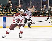 Danny Hobbs (UMass - 11) - The University of Massachusetts (Amherst) Minutemen defeated the University of Vermont Catamounts 3-2 in overtime on Saturday, January 7, 2012, at Fenway Park in Boston, Massachusetts.