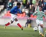 Junior Ogen scores the second goal for Rangers