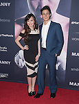 Ivan Dorschner and Anna Maria Perez attends The Los Angeles premiere of<br /> MANNY at The TCL Chinese Theater  in Hollywood, California on January 20,2015                                                                               © 2015 Hollywood Press Agency