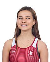Stanford, CA - November 7, 2019: Caroline Ricksen Athlete Headshot.