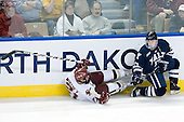Steven Whitney (BC - 21), Andrew Miller (Yale - 17) - The Boston College Eagles defeated the Yale University Bulldogs 9-7 in the Northeast Regional final on Sunday, March 28, 2010, at the DCU Center in Worcester, Massachusetts.