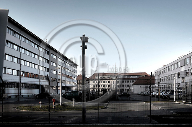 """BERLIN - GERMANY 10. DECEMBER 2006 -- Bundespolizeipraesidium Ost -- PHOTO: CHRISTIAN T. JOERGENSEN / EUP & IMAGES..This image is delivered according to terms set out in """"Terms - Prices & Terms"""". (Please see www.eup-images.com for more details)"""