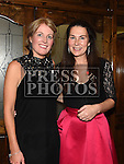 Linda Donoghue and Catherine Rogers at the Team Carrie annual dinner and presentation night. Photo:Colin Bell/pressphotos.ie