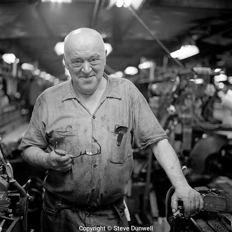 Albert Biro, Loom-fixer, Wannalancit Textile, Lowell, MA (1975)