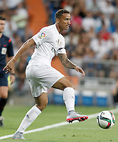 Real Madrid's Danilo Luiz da Silva during XXXVI Santiago Bernabeu Trophy. August 18,2015. (ALTERPHOTOS/Acero)