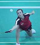 Delhi 2010 Commonwealth Games.Sarah Thomas in action against S Egelstaff from Scotland..05.10.10.©Steve Pope.