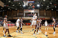 SAN ANTONIO, TX - NOVEMBER 25, 2016: The University of Texas at San Antonio Roadrunners defeat the Texas State University Bobcats 63-48 at the UTSA Convocation Center. (Photo by Jeff Huehn)