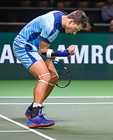 Rotterdam, The Netherlands, 11 Februari 2019, ABNAMRO World Tennis Tournament, Ahoy, first round doubles: Artem Sitak (NZL),<br /> Photo: www.tennisimages.com/Henk Koster