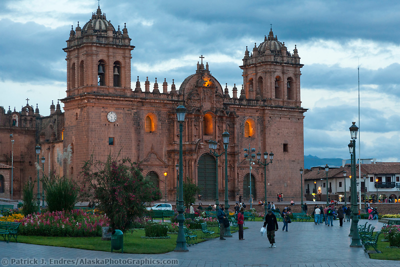 Catholic church, Cusco, Peru, South America