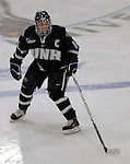 6 January 2007: University of New Hampshire forward and team captain Josh Ciocco (14) from Atco, NJ, in action against the University of Vermont Catamounts at Gutterson Fieldhouse in Burlington, Vermont. The UNH Wildcats defeated Vermont 2-1 to sweep the two-game weekend series in front of a record setting 49th consecutive sellout at the Gut...Mandatory Photo Credit: Ed Wolfstein Photo.<br />