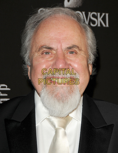 GEORGE SCHLATTER .The 12th Annual Costume Designers Guild Awards held at The Beverly Hilton Hotel in Beverly Hills, California, USA. .February 25th, 2010 .headshot portrait black white goatee facial hair .CAP/RKE/DVS.©DVS/RockinExposures/Capital Pictures.