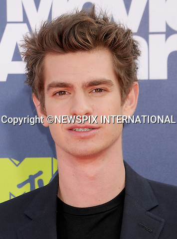 "ANDREW GARFIELD.attends the 2011 MTV Movie Awards at the Gibson Amphitheatre on June 5, 2011 in Universal City, California.Mandatory Photo Credit: ©Crosby/Newspix International. .**ALL FEES PAYABLE TO: ""NEWSPIX INTERNATIONAL""**..PHOTO CREDIT MANDATORY!!: NEWSPIX INTERNATIONAL(Failure to credit will incur a surcharge of 100% of reproduction fees)..IMMEDIATE CONFIRMATION OF USAGE REQUIRED:.Newspix International, 31 Chinnery Hill, Bishop's Stortford, ENGLAND CM23 3PS.Tel:+441279 324672  ; Fax: +441279656877.Mobile:  0777568 1153.e-mail: info@newspixinternational.co.uk"