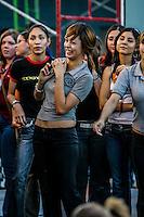 Benny Ibarra ex Timbiriche con 26 años ya de carrera artística dio muestra de su talento ante estudiantes universitarios y de preparatoria en el evento Valores Sonora 2006.