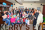 J P and Cyrona O'Carroll, seated centre from Corbally, Ballyduff, celebrated the christening of their baby Alex Gerard O'Carroll, with family and friends in Lowe's Bar Ballyduff on Saturday.