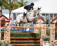 Lyonell ridden by Cara Raether,  USEF trials#2 Wellington Florida. 3-22-2012
