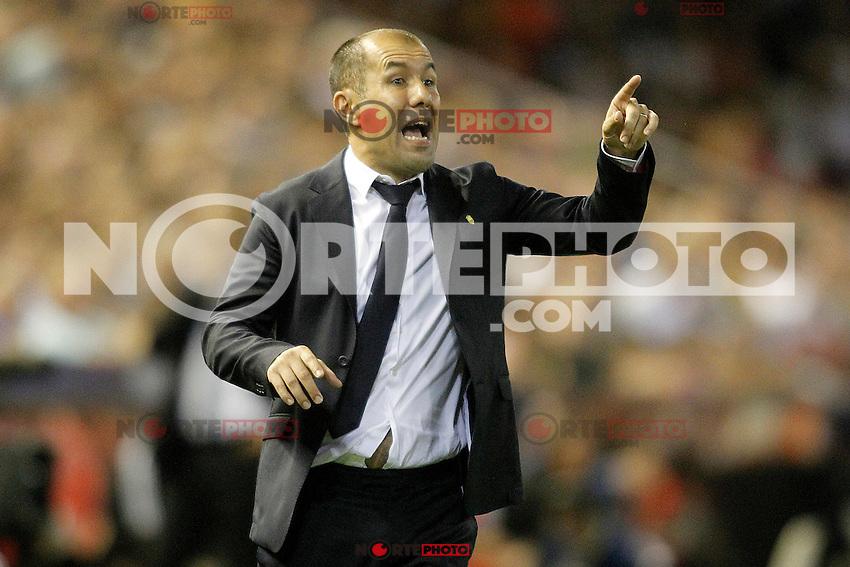 AS Monaco FC's coach Leonardo Jardim during Champions League 2015/2016 Play-Offs 1st leg match. August  19,2015. (ALTERPHOTOS/Acero)